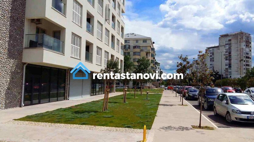 Zgrada Vezir i ulica Serdara Jola Piletića